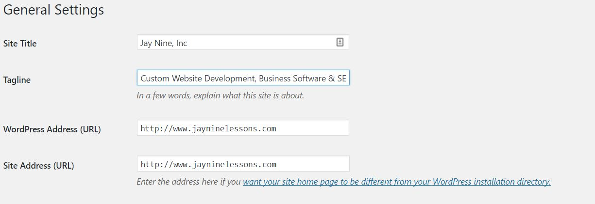 Local Search Engine Optimization with WordPress